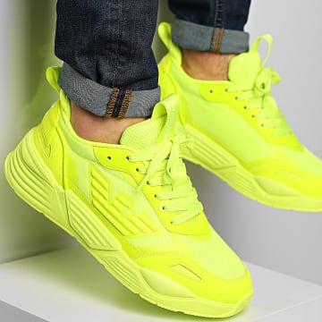 EA7 Emporio Armani - Baskets X8X070-XK165 Full Yellow Fluo