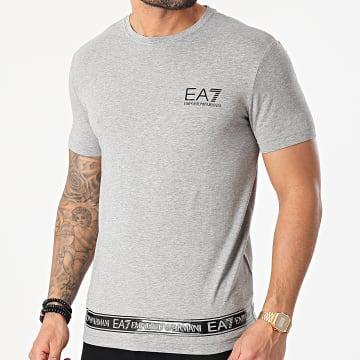 EA7 Emporio Armani - Tee Shirt 3KPT05-PJ03Z Gris Chiné