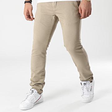 Le Temps Des Cerises - Pantalon Chino Kurt Jogg Beige