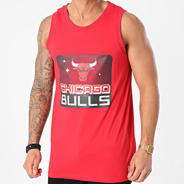 New Era - Débardeur Chicago Bulls NBA Team Graphic 12590888 Rouge