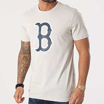 New Era - Tee Shirt Boston Red Sox Sea Team Logo 12590908 Gris