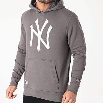 New Era - Sweat Capuche Seasonal Team Logo New York Yankees 12590909 Gris Anthracite