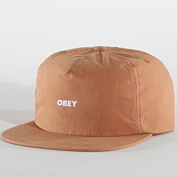 Obey - Casquette Warfield Marron