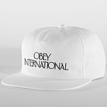 Obey - Casquette Snapback Players Club Blanc