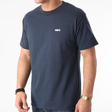 Obey - Tee Shirt Bold Bleu Marine