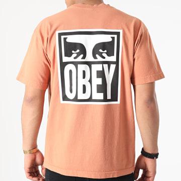 Obey - Tee Shirt Eyes Icon 2 Orange