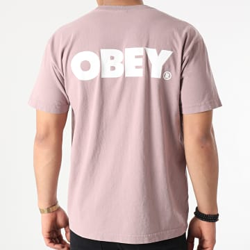 Obey - Tee Shirt Bold Violet