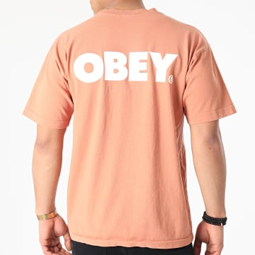Obey - Tee Shirt Bold Orange