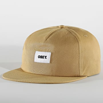 Obey - Casquette Bold Label Beige
