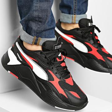 Puma - Baskets RS-X3 Hard Drive 37499 Puma Black Poppy Red