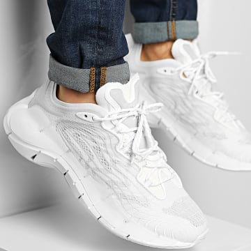 Reebok - Baskets Zig Kinetica II FX9341 White Pure Grey 3 Energy Glow