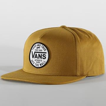 Vans - Casquette Snapback Logo Pack A542W Moutarde