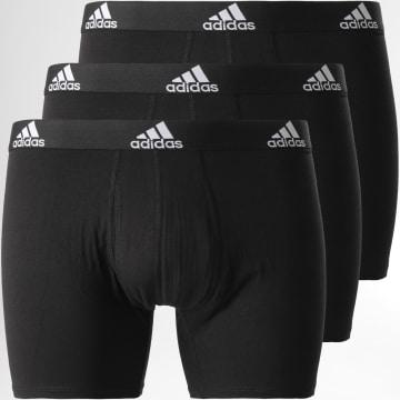 Adidas Performance - Lot De 3 Boxers Bos GU8889 Noir