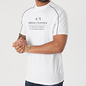 Armani Exchange - Tee Shirt 3KZMFB-ZJH4Z Blanc