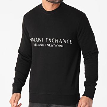 Armani Exchange - Sweat Crewneck 8NZM88-ZJKRZ Noir