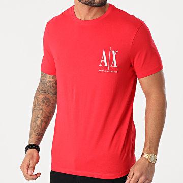 Armani Exchange - Tee Shirt 8NZTPH-ZJH4Z Rouge