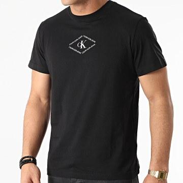 Calvin Klein - Tee Shirt Mono Triangle 7448 Noir