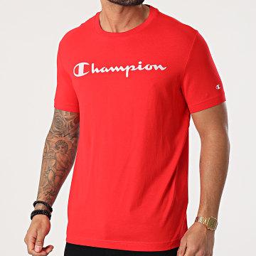 Champion - Tee Shirt 214142 Rouge