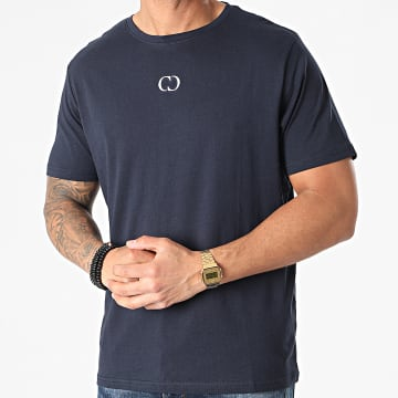 Criminal Damage - Tee Shirt Eco Bleu Marine