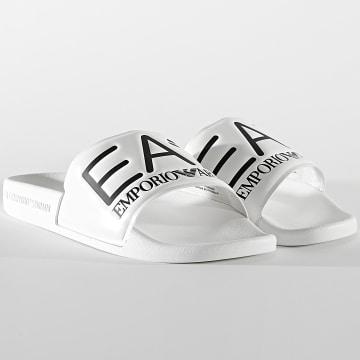 EA7 Emporio Armani - Claquettes XCP001-XCC22 White