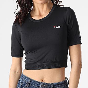 Fila - Tee Shirt Femme Crop Caylin 688520 Noir