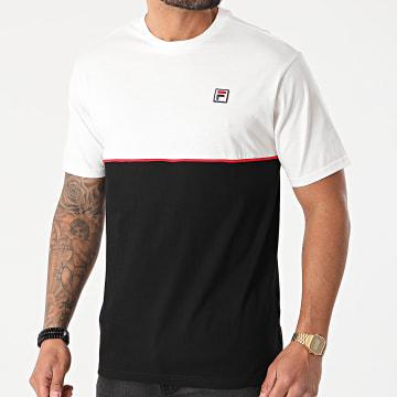 Fila - Tee Shirt Harverd 688562 Noir Blanc