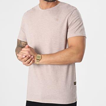 G-Star - Tee Shirt Compact Jersey D16411-336 Beige Chiné