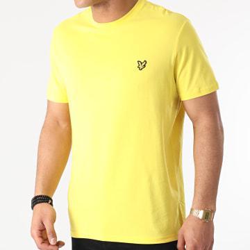 Lyle And Scott - Tee Shirt TS400V Jaune