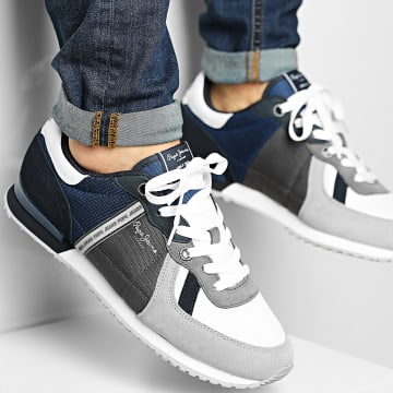 Pepe Jeans - Baskets Tinker Zero PMS30725 Light Grey