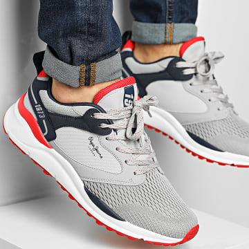 Pepe Jeans - Baskets Trail Light Knit PMS30742 Light Grey