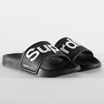 Superdry - Claquettes Classic Pool Side MF310008A Noir