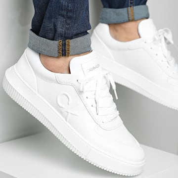 Calvin Klein - Baskets Chunky Sole Laceup Oxford 0035 Bright White