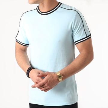 Frilivin - Tee Shirt BM1048 Bleu Clair