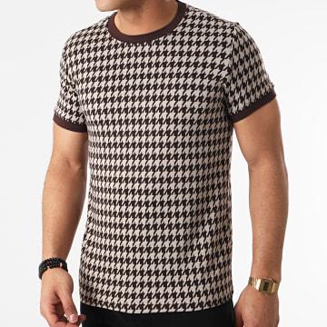 Frilivin - Tee Shirt BM1256 Beige Marron
