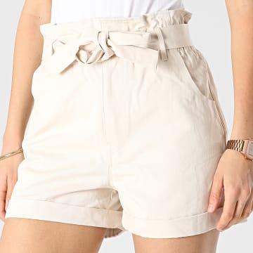 Girls Outfit - Short Femme 57312 Ecru