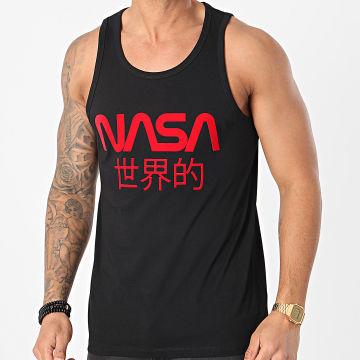 NASA - Débardeur Japan Noir Rouge