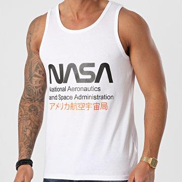 NASA - Débardeur Admin 2 Blanc