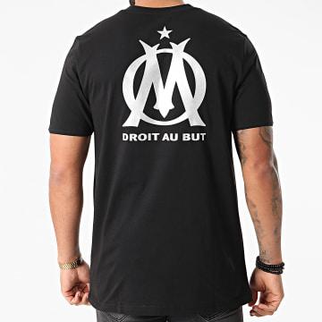 Puma - Tee Shirt OM TFS 758737 Noir Argenté