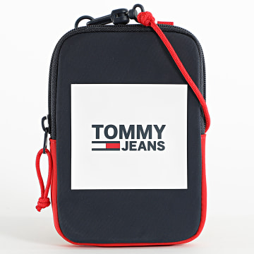 Tommy Jeans - Sacoche Urban Compact 7399 Bleu Marine Rouge