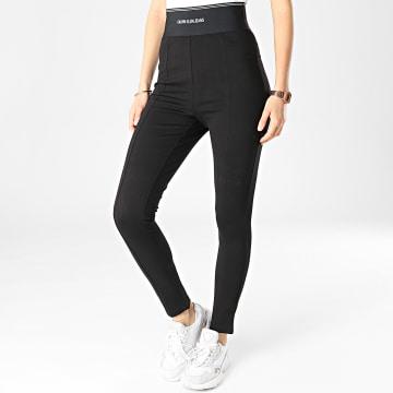 Calvin Klein - Legging Femme Milano Logo Elastic 5548 Noir
