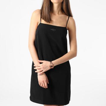 Calvin Klein - Robe Débardeur Femme Monogram 5669 Noir