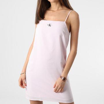 Calvin Klein - Robe Débardeur Femme Monogram Cami Top 5669 Rose