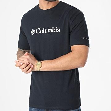 Columbia - Tee Shirt CSC Basic Logo 1680053 Noir