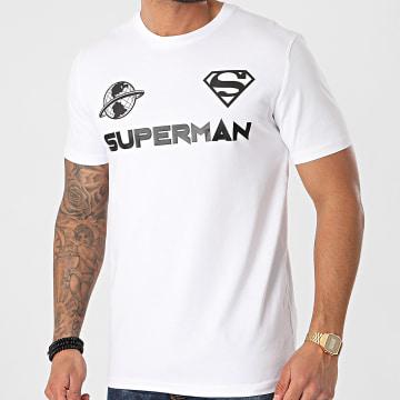 DC Comics - Tee Shirt Globe Blanc Noir