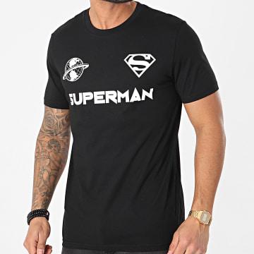 DC Comics - Tee Shirt Globe Noir Blanc