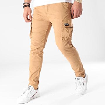 Deeluxe - Pantalon Cargo Tanza S217077M Camel