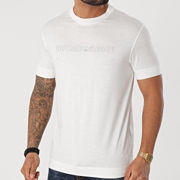 Emporio Armani - Tee Shirt 3K1TAG-1JUVZ Ecru