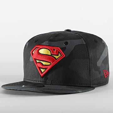 New Era - Casquette Snapback Enfant 9Fifty Camo 60112542 Superman Noir