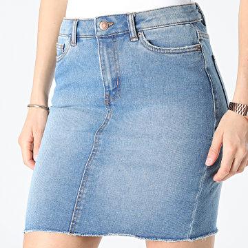 Vero Moda - Jupe Jean Femme 10240485 Bleu Denim