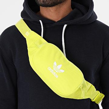 Adidas Originals - Sac Banane Essential Crossbody GN4793 Jaune Fluo